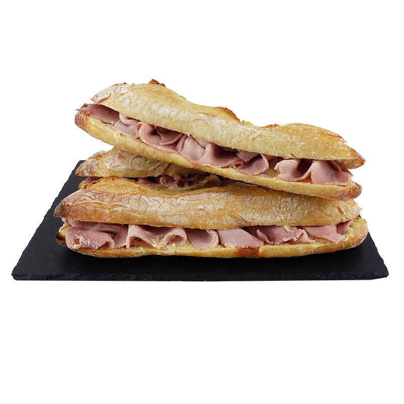 Sandwich jambon beurre