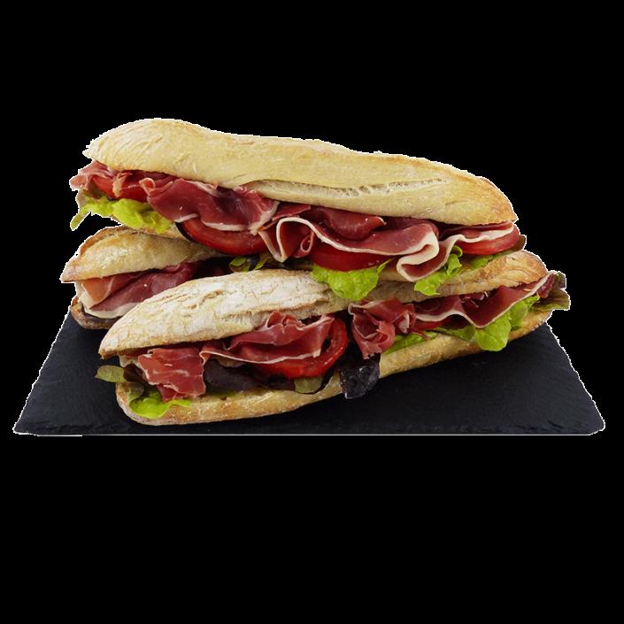 Sandwich jambon de pays